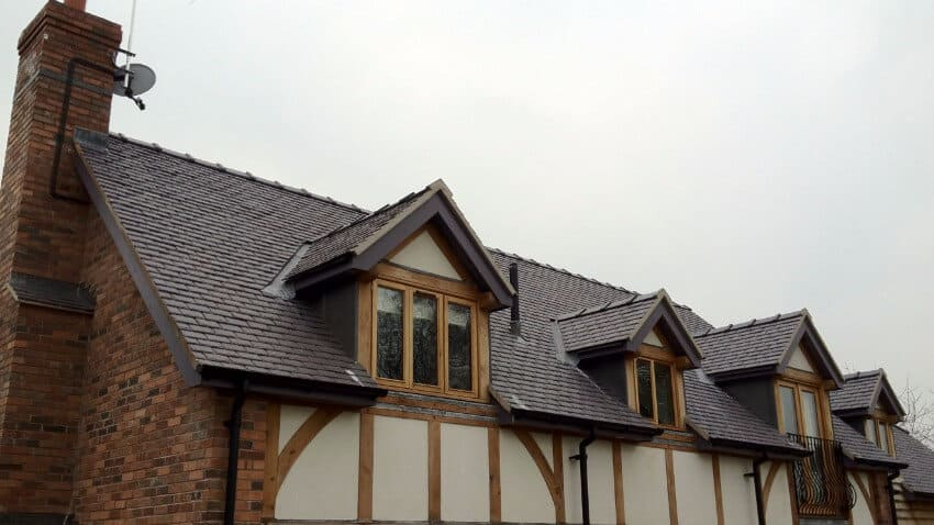 pitched roofing front